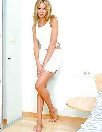Charming blonde