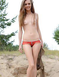 Hot beauty undressing